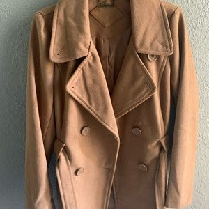 Jou Jou Jackets & Coats - JouJoe camel pea coat